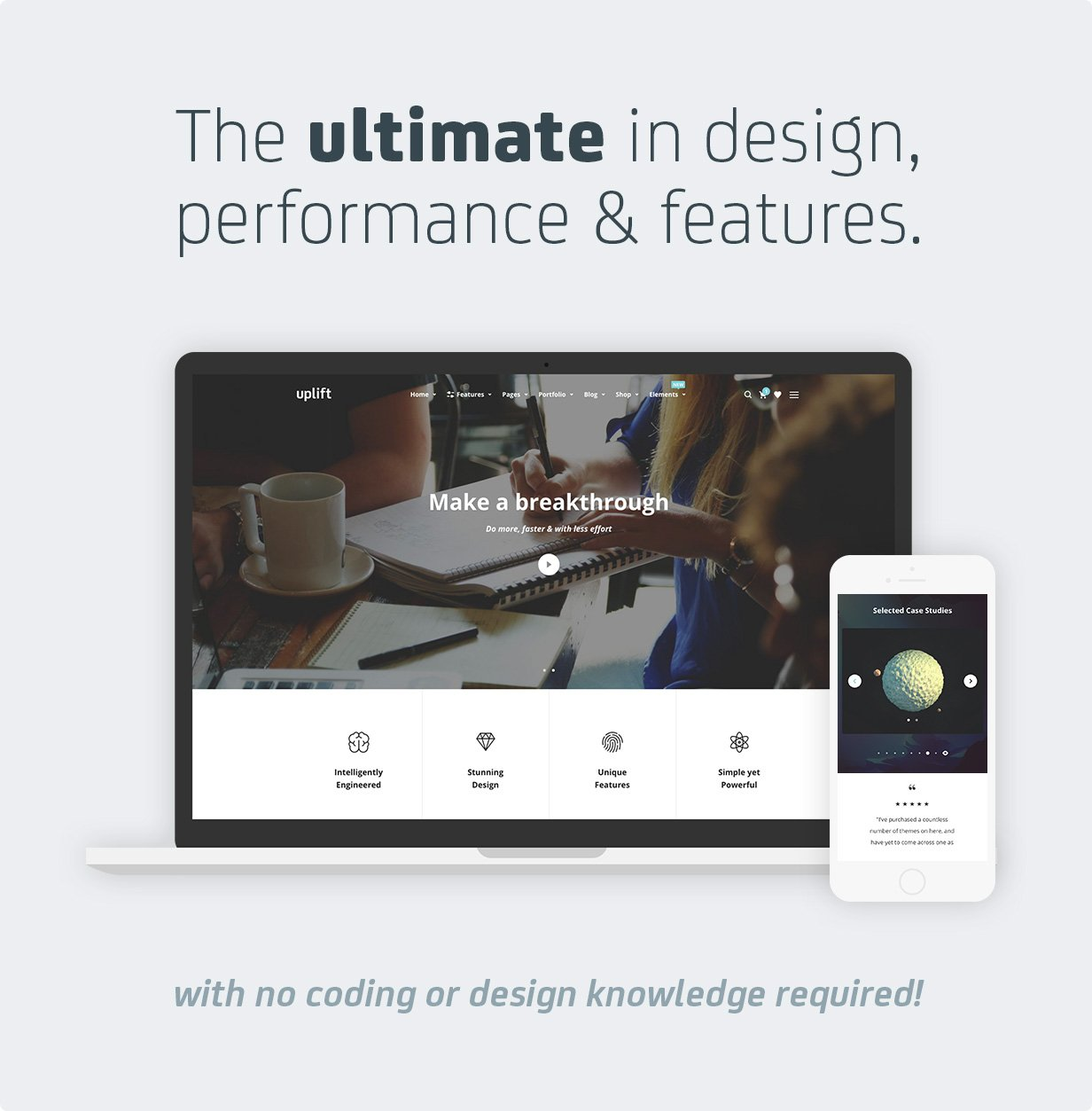 Uplift - Responsive Multi-Purpose WordPress Theme - 2